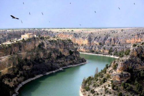 Hoces del rio Duraton , Hermita de San Frutos